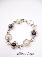 Pearl Round the World Bracelet