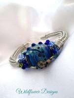 Tidal Blues Bracelet