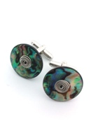 Paua Cufflinks - set E