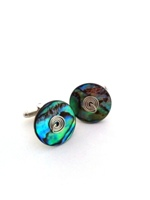 Paua Cufflinks - set A