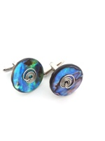 Paua Cufflinks - set D