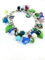 Sea Garden Charm Bracelet