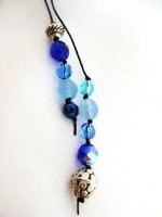 Bead Wrap Blue