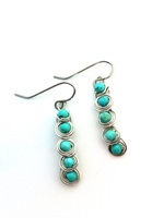 Howlite Turquoise Cascade