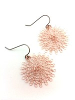 Rose Gold Wire Earrings