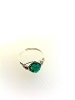 Emerald Crystal Wrap Ring