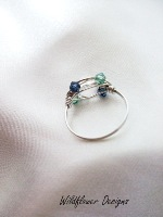 Clear Crystal Wrap Ring