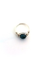 Montana Blue Crystal Wrap Ring