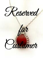 Reserved for Natalie - Sunset Necklace