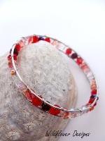 Fire Wrapped Bracelet