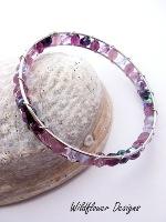 Amethyst Wrapped Bracelet