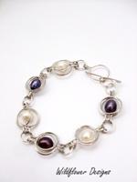 Pearl Round the World Bracelet