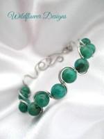 Amazonite Wave Bracelet