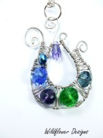 Crystal Swirl Necklace