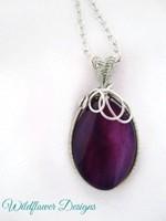 Royal Purple Swirl