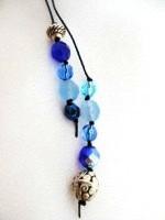 Bead Wrap Blue