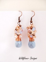 Sunset on the Water Earrings