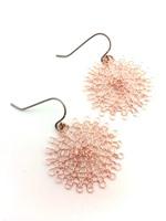 Rose Gold Wire Earrings