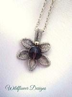 Amethyst Bloom Necklace