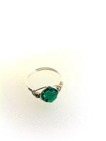 Emerald Crystal Wrap Ring