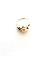 Cream Pearl Wrap Ring