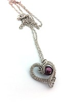 Hearts Delight with Burgundy Pearl