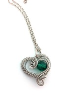 Hearts Delight with Emerald Crystal