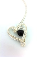 Hearts Delight with Jet Black Crystal