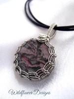 Purple Encircled Necklace